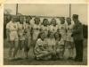 TUS-Gahlen Damen-Handballmannschaft 50er Jahre