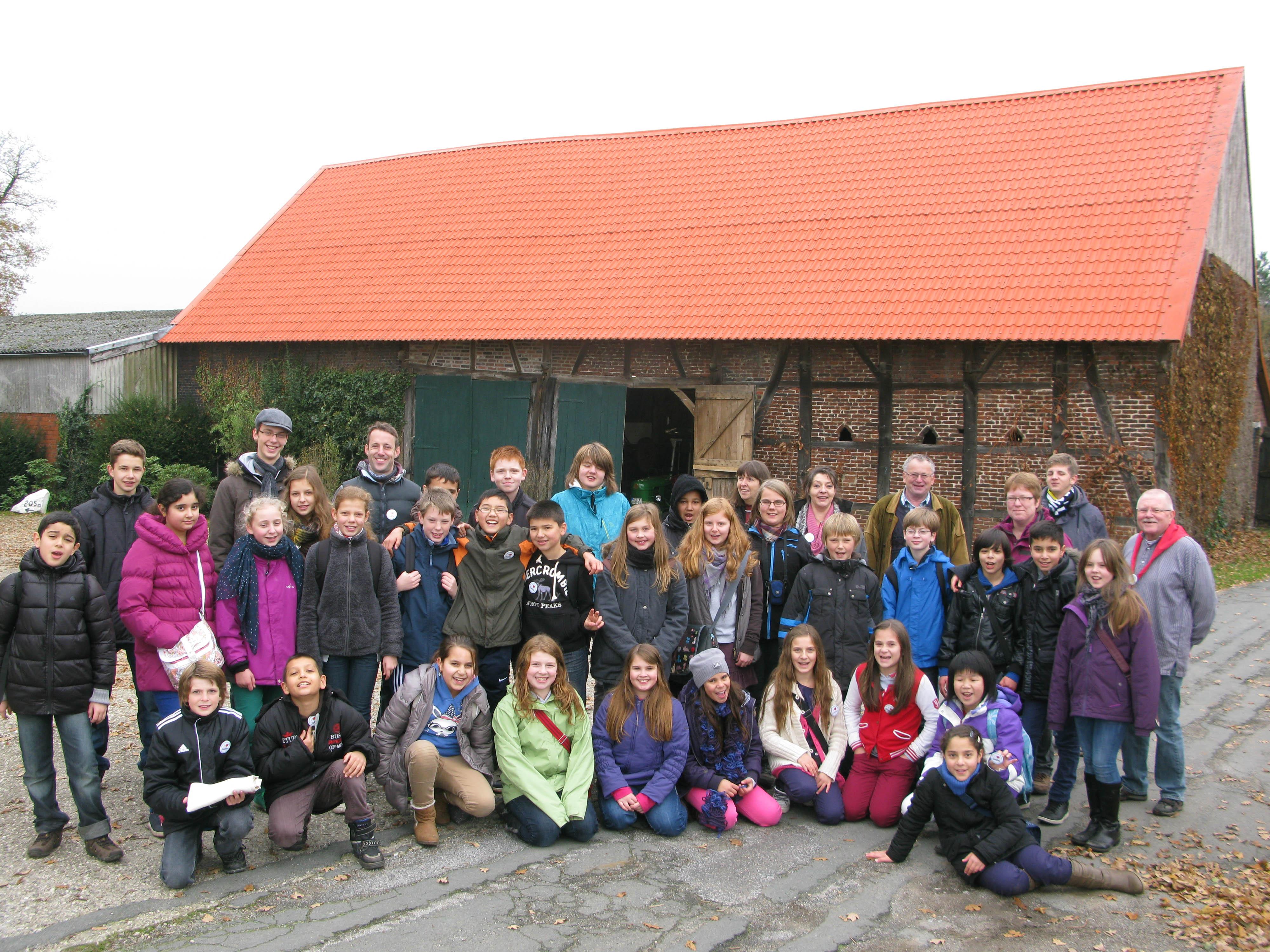2012.11.13 Goethe-Schule aus Bochum zu Besuch