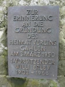 Gruendung 1950 Willi Erley