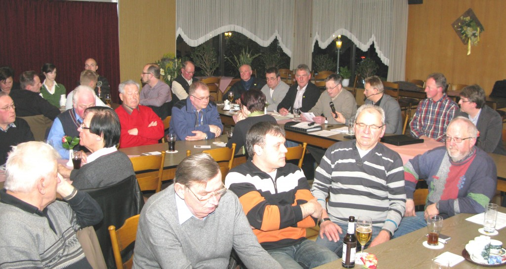 Hauptversammlung 11.03.2011
