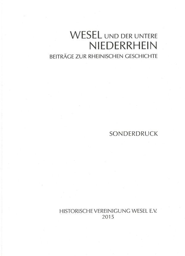 Sonderdruck Wesel