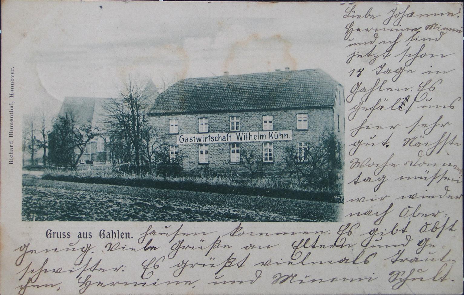 Ansichtskarte von 1906