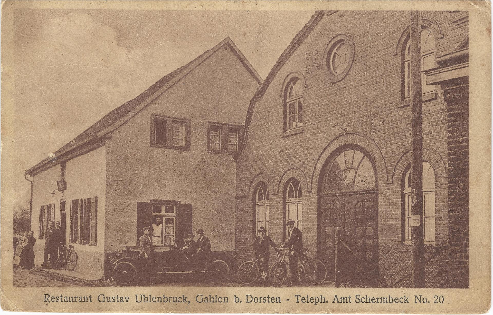 Postkarte aus dem Jahr 1927