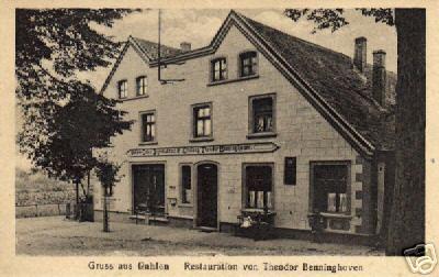 Gaststätte \'\'Th. Benninghoven\'\'