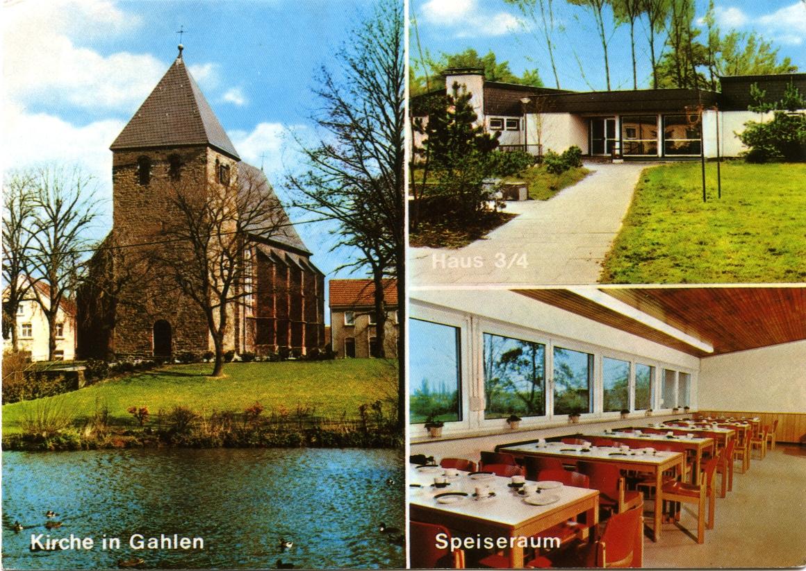 Jugendfreitzeitstätte Gahlen 1983